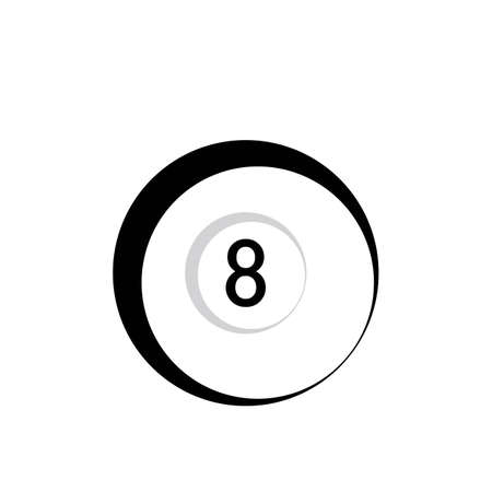 Billiard template vector icon design - Vector billiard balls icon Vector illustration design template - Vector