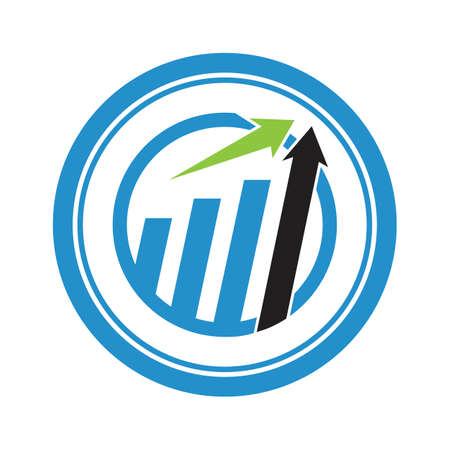Ilustración de Business Finance Logo template vector icon design - Imagen libre de derechos