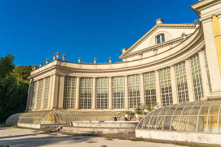 Foto per Rome, Italy - October 2019: Villa Torlonia Theater building. - Immagine Royalty Free