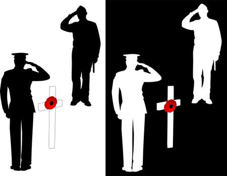 Foto per For the men and women who lost their lives to save ours.. Lest we Forget! - Immagine Royalty Free