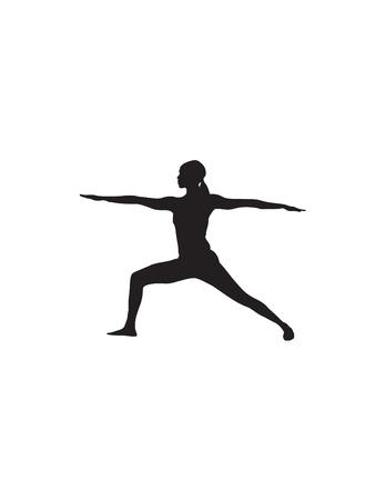 Yoga Position Illustration