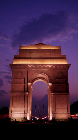 Charismatic night at India Gate, New Delhi