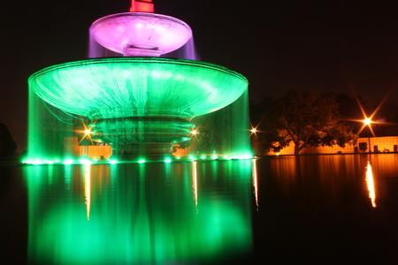 Fountain Scene at Central Secretariat