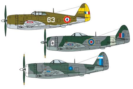 Ilustración de Aircraft color scheme. Illustration - Imagen libre de derechos