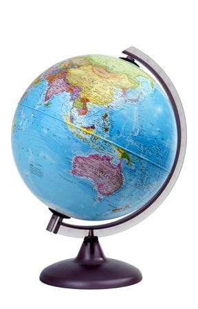 globe asia oceania