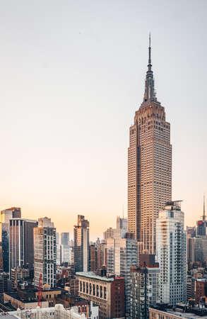 Old skyscraper in New York City