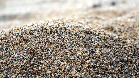 Photo pour Close up of white sand beach - image libre de droit