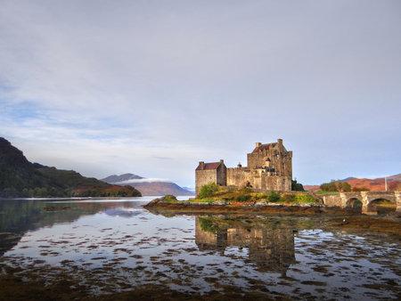 Urquhart Castle beside Loch Ness in Scotland, UK
