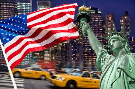 Photo pour New York concept collage - image libre de droit