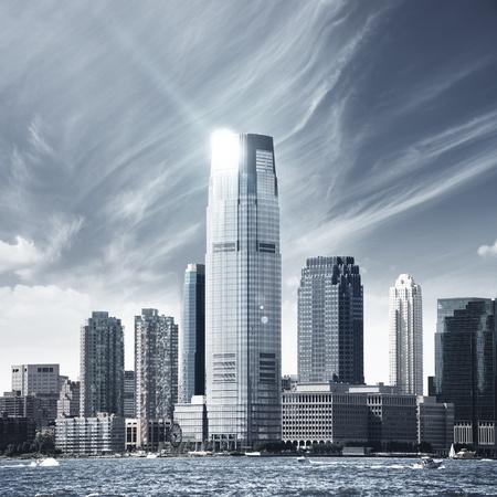 Future city - new york skyline