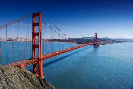 San Francisco - Golden Gate Bridge at day