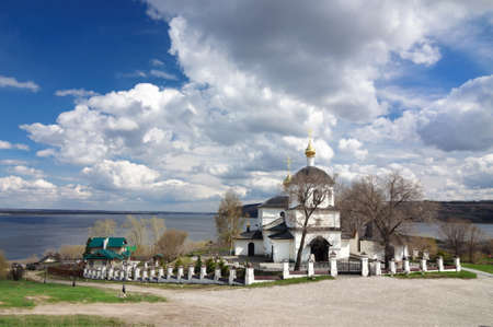 Church of Saints Constantine and Helena on the island of Sviyazhsk, Russia.