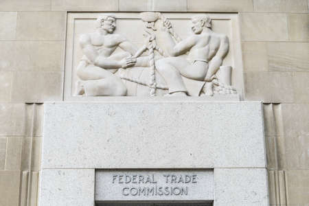Federal Trade Commission Building in Washington, DC.