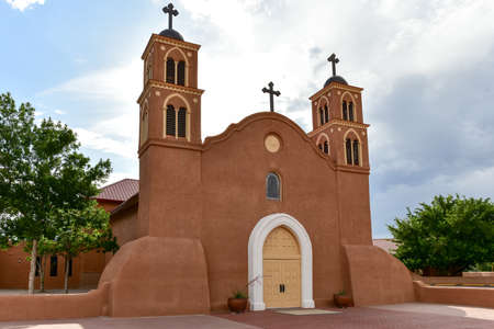 San Miguel de Socorro is the Catholic church in Socorro, New Mexico, built on the ruins of the old Nuestra Senora de Socorro mission.