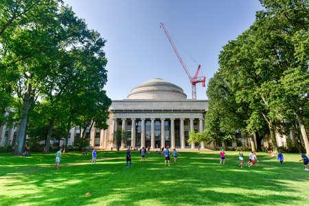 Boston, Massachusetts - September 4, 2016: The Great Dome of the Massachusetts Institute of Technology.