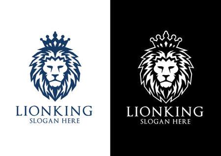Illustration for lion, lion king - Royalty Free Image