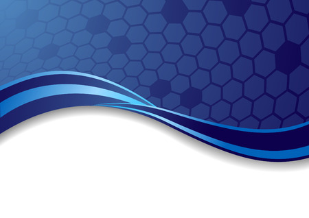 Vector abstract blue background; clip-art