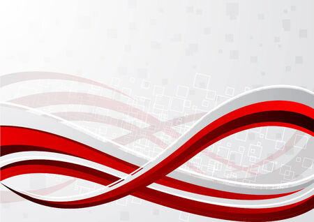 Vector red background; clip-art