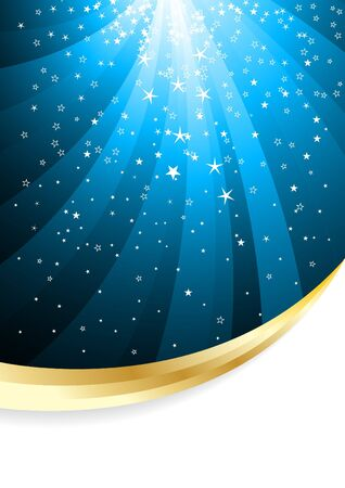 Vector abstract background with star; clip-art
