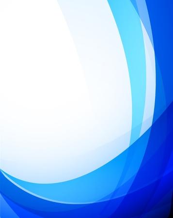 Foto de Abstract blue background. Colorful illustration - Imagen libre de derechos