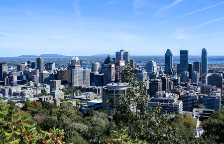 Skyline of Downtown Montreal