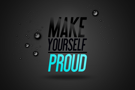 Make Yourself Proud Wallpaper Mural Thumbnail