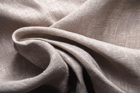 Photo pour Background made of linen folded napkins - image libre de droit