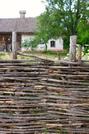 Traditional Ukrainian Homestead in Pirogovo ethnic park