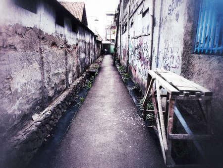 The town on Jakarta