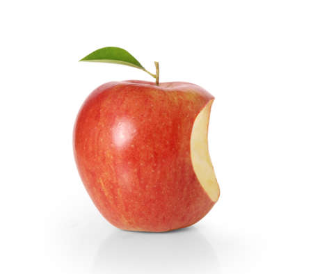 Delicious Apple on White Background