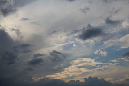 just a cloudy sky