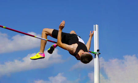 Photo pour High jump - image libre de droit