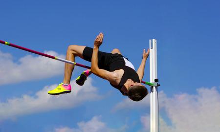 Foto de High jump - Imagen libre de derechos