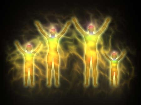 Family - energy body, aura