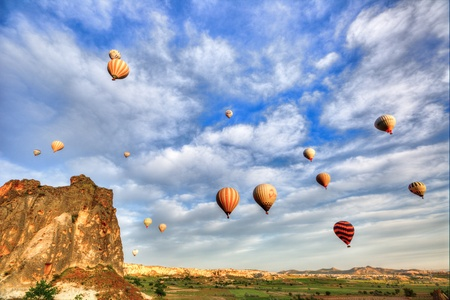 hot air balloon trip at famo