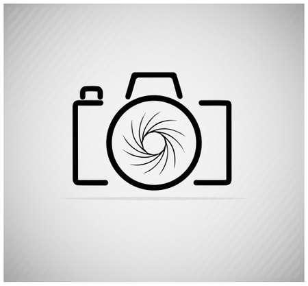 abstract image of a camera