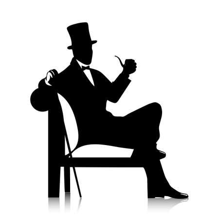 gentleman  silhouette