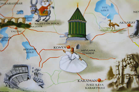 Konya  Turkey  On The Touristic Brochure