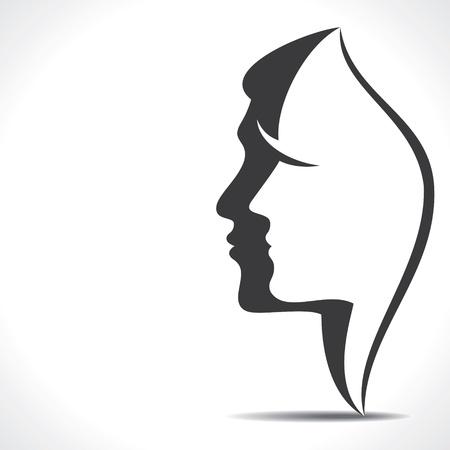 men women face