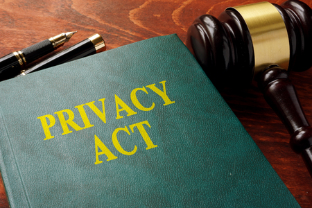 Title privacy act on the book.