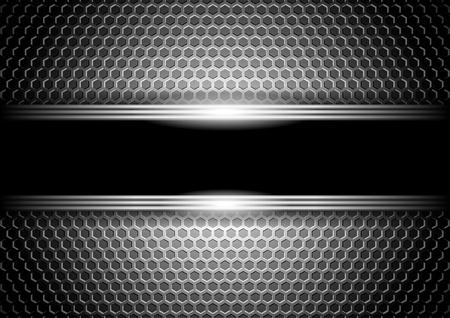 Illustration pour stylish metallic background  - image libre de droit
