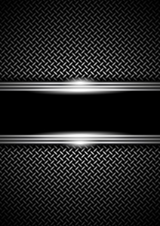 background with a metal grid