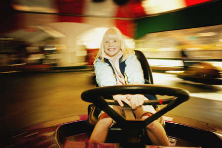 Girl on a ride