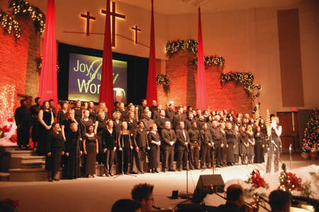 A church choir