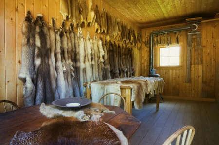 Historic fur trader hut