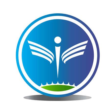 Wellness logo symbol