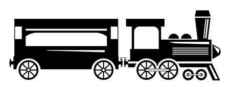 Illustration pour Train - image libre de droit