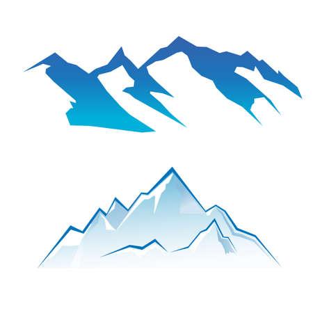 Illustration pour Mountain Set - image libre de droit