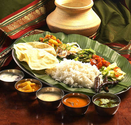indian traditional food.