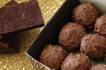 Delicious chocolate box
